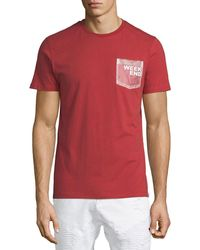 Sovereign Code - Men's Lacy Weekend Patch-pocket Tee - Lyst