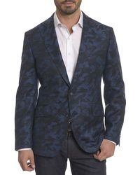 Robert Graham - Porthgain Camouflage Wool-cashmere Jacket - Lyst