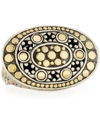 John Hardy - Dot Oval East-west Ring - Lyst