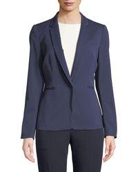 Tahari - Sal One-button Blazer Jacket - Lyst