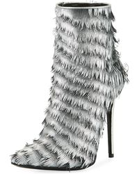 Lust For Life | Kiss Fringed Leather Bootie | Lyst