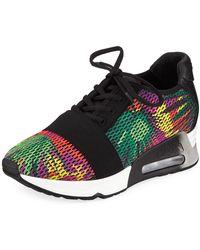Ash - Lacey Bis Multicolor Knit Sneaker - Lyst