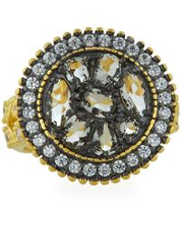 Freida Rothman - Rose D'or Round Pebble Ring Size 6 - Lyst