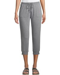Joe's - Terry Cloth Cropped Sweatpants - Lyst