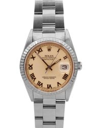 Rolex - Pre-owned 31mm Oyster Automatic Bracelet Watch - Lyst