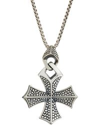 Stephen Webster - Men's Rayman Templar Cross Pendant Necklace - Lyst