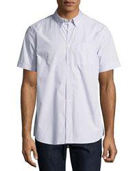Wesc - Nadim Striped Short-sleeve Sport Shirt - Lyst