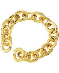 Roberto Coin - 18k Gold Oval Link Bracelet - Lyst