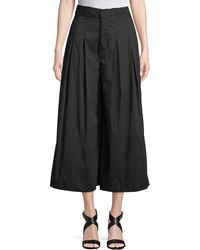 Kendall + Kylie - Cropped Wide-leg Pants - Lyst