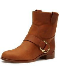 Frye - Ricki Leather Engineer Boot - Lyst