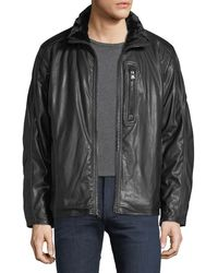 Marc New York - Hopkins Faux-leather Jacket - Lyst