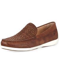 Tommy Bahama - Men's Taormina Woven Leather Slip-on - Lyst