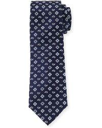 Bugatchi - Floral Dot-print Silk Tie - Lyst