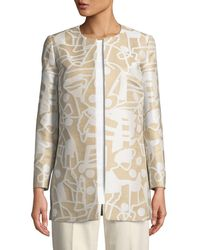 Lafayette 148 New York - Pria Open-front Jacket - Lyst