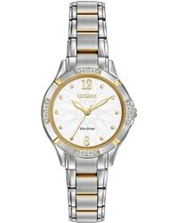 Citizen - 30mm Eco-drive Bracelet Watch - Lyst