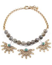 Lulu Frost - Marjorelle Beaded Necklace - Lyst