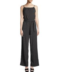 Bishop + Young - Belted Wide-leg Jumpsuit - Lyst