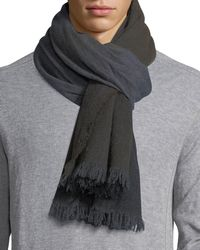 Begg & Co - Nuance Oxide-wash Scarf - Lyst