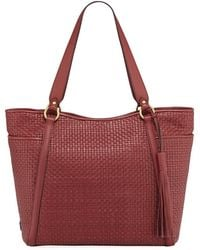 Cole Haan - Gabriella Soft Weave Leather Tote Bag - Lyst