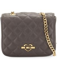 Love Moschino - Quilted Chain Shoulder Bag - Lyst