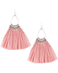 Nakamol - Fringe Teardrop Earrings - Lyst