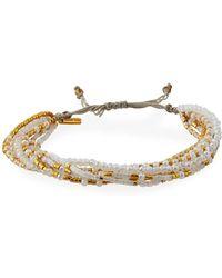 Chan Luu - Multi-strand Beaded Bracelet - Lyst