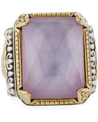 Konstantino - Iliada Rectangular Doublet Ring - Lyst