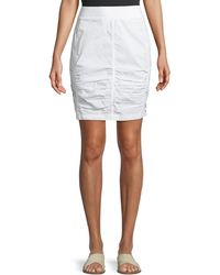 XCVI - Tammy Lace Up Wash Skirt - Lyst