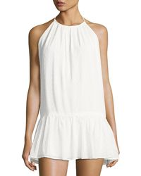 6 Shore Road By Pooja - Caribe Halter Coverup Dress - Lyst