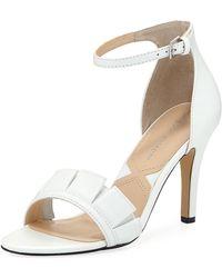 Adrienne Vittadini - Gabi Single Mid-heel Dress Sandal - Lyst