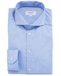 Eton of Sweden Space-dye Super Slim-fit Dress Shirt