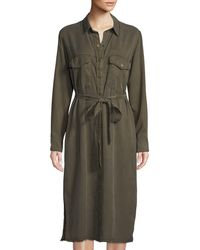 Sanctuary - Boyfriend For Life Snap-front Shirtdress - Lyst