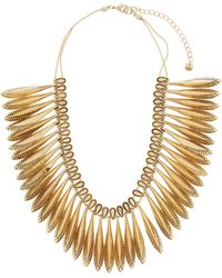 Lydell NYC - Multi-drop Sliding Statement Necklace - Lyst
