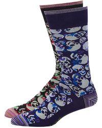 Robert Graham - Men's Skull Dress Socks - Lyst