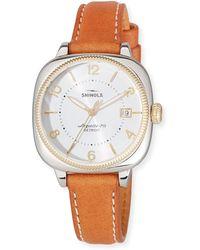 Shinola - 36mm Women's Gomelsky Two-tone Watch - Lyst