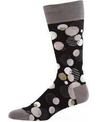 Bugatchi - Men's Mixed Dot Socks - Lyst