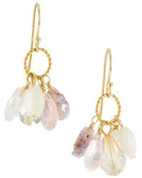 A.V. Max - Semiprecious Stone Cluster Earrings - Lyst