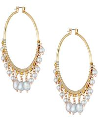 Nakamol - Multi-pearl Statement Earrings - Lyst