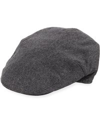 Neiman Marcus - Ivy Wool Driver Hat - Lyst