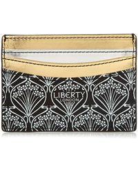 Liberty | Stars Fabric Metallic Card Case | Lyst