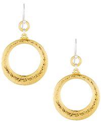 Gurhan - Hoopla Tapered Hoop Earrings - Lyst