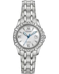 Citizen - 26mm Eco-drive Diamond Bracelet Watch - Lyst