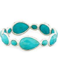 Ippolita - Rock Candy® Turquoise Large Gelato Bangle - Lyst