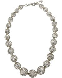 Fragments | Graduating Crystal Ball Necklace | Lyst