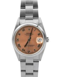 Rolex - Pre-owned 31mm Datejust Bracelet Watch - Lyst