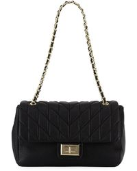 Karl Lagerfeld | Agyness Quilted Leather Shoulder Bag | Lyst