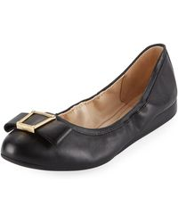 Cole Haan - Emory Bow Ballet Flats - Lyst