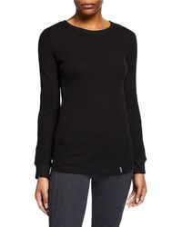 Marc New York - Ribbed Slim-fit Thermal Top - Lyst