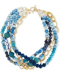 Akola - Twisted Multi-strand Necklace - Lyst