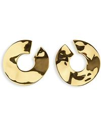 Ippolita - 18k Senso Open Wavy Disc Earrings - Lyst